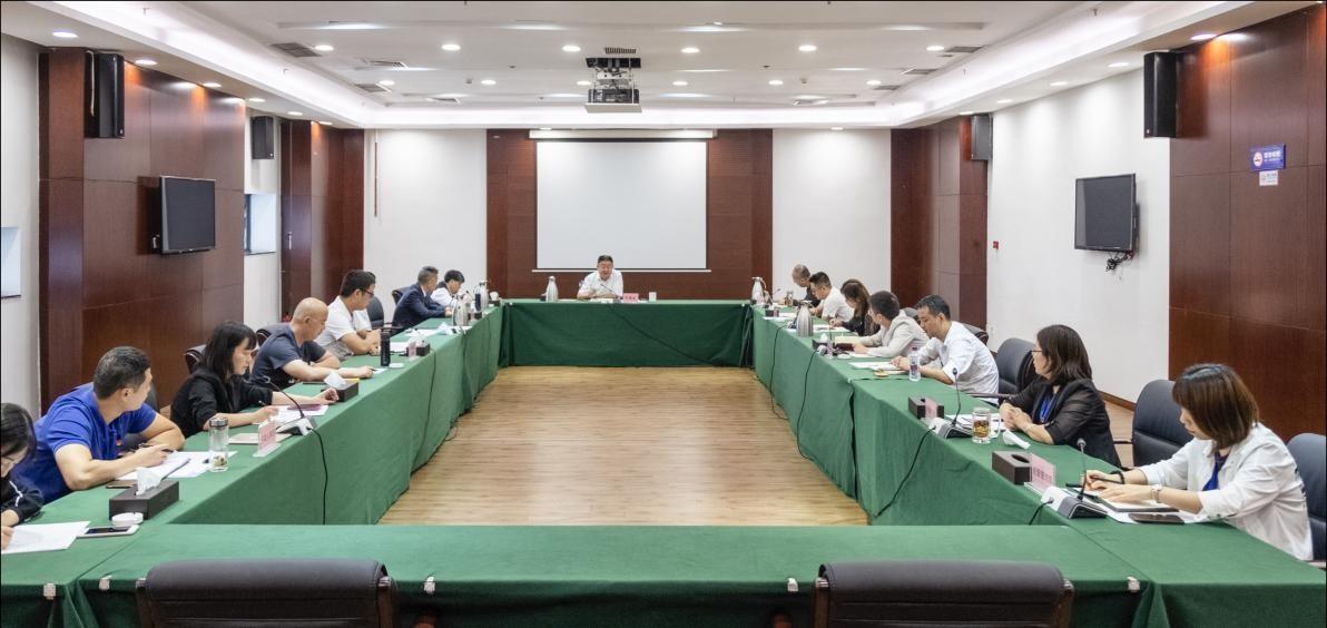 集团党委书记叶建宏组织召开第九届科博会总结会